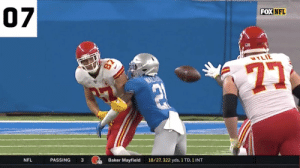 What a way to start the season. 🔥  The TOP 25 plays of September! https://t.co/I4qFDj4cMn: 07  FOX NFL  WYLIE  Baker Mayfield  PASSING  3  18/27, 322 yds, 1 TD, 1 INT  NFL What a way to start the season. 🔥  The TOP 25 plays of September! https://t.co/I4qFDj4cMn