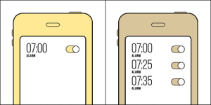 Tumblr, Alarm, and Blog: 0700 O  07:25 cO  07:35 CO  0  7:00 o  1  ALARM  ALARM  ALARM  ALARM makeuphall: There Are Two Kinds Of People (+14 Pics) Amazing illustrations that reduce some of our quirks to simple everyday decisions. Check them all and tag your side if you decide to reblog :)