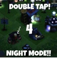 073  DOUBLE TAP!  Mak:3013  NIGHT MODE! Thanks for 4,000 followers! It would be AWESOME if Clash had night mode!