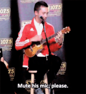 Love, Target, and Tumblr: 075  1075  1075  15  75  Mute his mic, please. elenandamon:  best frens; josh  tyler showing their mutual love.