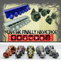 We know...we know... How can a store called D20 Collective NOT carry dice?! Well, they wanted dice that stand out. So D20 Collective has teamed up with Norse Foundry to deliver the goods!  Order Yours Here ==> https://www.d20collective.com/collections/dice-and-tokens  We have aluminum precision dice sets, gemstone dice sets, metal dice sets and the coveted 45MM METAL D20 BOULDER. (For when you REALLY wanna score that critical.)  Share and Tag Your Friends!: 08  YEAHAMEFINALLYHAVEXE  20 We know...we know... How can a store called D20 Collective NOT carry dice?! Well, they wanted dice that stand out. So D20 Collective has teamed up with Norse Foundry to deliver the goods!  Order Yours Here ==> https://www.d20collective.com/collections/dice-and-tokens  We have aluminum precision dice sets, gemstone dice sets, metal dice sets and the coveted 45MM METAL D20 BOULDER. (For when you REALLY wanna score that critical.)  Share and Tag Your Friends!