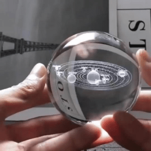 jediblackhauke:  pleasingly-aesthetics: Experience the Solar System like never before! Hold this in the palm of your hand while it gives you a complete 360 Degree View of our Universe! This 3D Solar System Crystal Ball creates a high realistic view of all of our planets like it would be in real life. All are labeled with a beautiful white engraving, when light is laced below it, the Planets laser engravings will illuminate making it perfect for a night light! This is the Perfect Gift for your Friends and Family! = GET YOURS HERE =   Oooh, I want one!!: 0JE jediblackhauke:  pleasingly-aesthetics: Experience the Solar System like never before! Hold this in the palm of your hand while it gives you a complete 360 Degree View of our Universe! This 3D Solar System Crystal Ball creates a high realistic view of all of our planets like it would be in real life. All are labeled with a beautiful white engraving, when light is laced below it, the Planets laser engravings will illuminate making it perfect for a night light! This is the Perfect Gift for your Friends and Family! = GET YOURS HERE =   Oooh, I want one!!