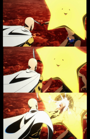 One-Punch Man, Target, and Tumblr: 0lightsource:  This is my favorite part of the One Punch Man opening