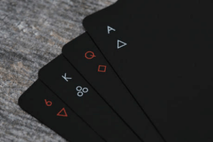 Playing Cards, Minimal, and  Cards: 0o These minimal playing cards
