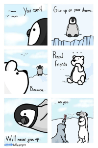 """Friends, Real Friends, and Http: 0U Can  Jive up n your dreams  Real  riends  Becouse  on you.  ill neuer give op..  ossboot hufly-penguin  oce <p>Real friends 😊 via /r/wholesomememes <a href=""""http://ift.tt/2pAyUAB"""">http://ift.tt/2pAyUAB</a></p>"""