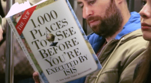 Roses are red, that kiss was a bliss: 1,000  PLACES  To SEE  BEFORE  YOU'RE  EXECUTED BY  ISIS  1 New YouS TIWES BESTSELLER  n Plac Ta See Relare Yau e  THE NEW Roses are red, that kiss was a bliss