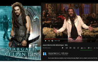 A Dream, Dude, and Funny: 1:04/ 4:48  Jason Momoa Mo-Monologue SNL  STARGATE  55,258 views  Saturday Night Live6,580 videos  L Published on Dec 8, 2018 4 hours ago  Host Jason Momoa explains why hosting Saturday Night Live is a dream come true for him.  TARCATE.Fİ T.BG  www.POSTERS-DATA
