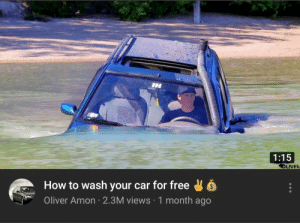 Meirl by _Paths MORE MEMES: 1:15  LIVER  How to wash your car for free  Oliver Amon 2.3M views 1 month ago Meirl by _Paths MORE MEMES