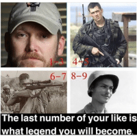 Memes, 🤖, and Got: 1-3 4-5  6-7 8-9  The last number of your like is  what legend vou will become Comment what hero you got!! Picture from @dailywarfare