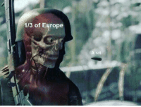 Black, Death, and Europe: 1/3 of Europe  A rat The Black Death circa. 1969 BC (colorized)