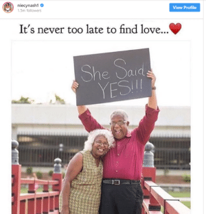 Forever Young by WhatTheFuckKanye MORE MEMES: 1.5m followers  View Profile  It's never too late to find love...  YESI  13 Forever Young by WhatTheFuckKanye MORE MEMES