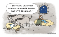 """Omg, Tumblr, and Blog: 1 DON'T KNOW WHAT THEY  ADDED To THE MANGER TONIGHT,  BUT IT'S DELICIOus!  lo  イ  ittle lfe lines.com <p><a href=""""https://omg-images.tumblr.com/post/159625323192/sacrilicious"""" class=""""tumblr_blog"""">omg-images</a>:</p>  <blockquote><p>Sacrilicious</p></blockquote>"""