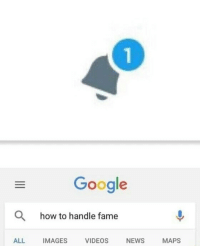 Google, How To, and Images: 1  Google  how to handle fame  ALL IMAGES VIDEOSNEWS MAPS