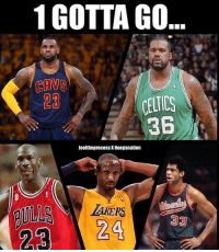 Imagine everyone's in their prime. Shaq Celtics pic was just for fun. @joeltheprocess x @hoopsnation Tags: NBA Ballers 1gottago: 1 GOTTA GO  CAVS  23  361  Joeltheprocess X Hoopsnation  TAKERS Imagine everyone's in their prime. Shaq Celtics pic was just for fun. @joeltheprocess x @hoopsnation Tags: NBA Ballers 1gottago