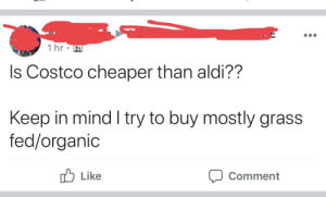 1 Hr Ls Costco Cheaper Than Aldi?? Keep in Mind I Try to Buy