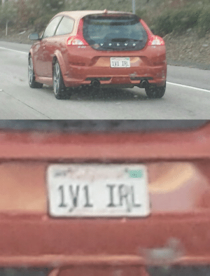 Blessed, Tumblr, and Blog: 1 IRL fullhousedeathcult2006:   sneakyfeets: today I was BLESSED if i see this fucker on the road im rear-ending them as hard as possible without hesitation