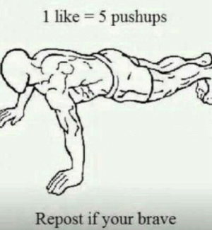 (just needed a pic) does anyone know how to get the strength up in gta?: 1 like = 5 pushups  Repost if your brave (just needed a pic) does anyone know how to get the strength up in gta?