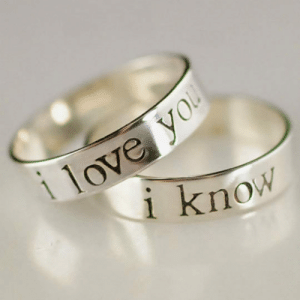 Love, Tumblr, and Blog: 1 love y  know srsfunny:This Is My Type Of Ring