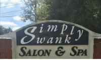 Tumblr, Blog, and Http: 1 m  wan k  SALON & SPA memehumor:  Signage could be improved.