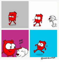 Memes, 🤖, and Freezing: 1]  o  PA  PAT  PA  @sheAwkwardYeti I was trudging to school yesterday and it was freezing and my shoes were wet and this woman walked passed with a lil spaniel and the dog ran up to me and it was the greatest moment of my life and I stroked it and I was happy ever since (artist: @theawkwardyeti)