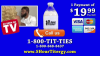"America, Energy, and Memes: 1 Payment of  $1999  VISA  Plus S&H  5-hour  ITERGY  MasterC  TV  AS SEEN ON  AMERICA I DISCOVER  EXPRESS  NETWORK  Call us  1-800-TIT-TIES  1-800-848-8437  www.5HourTitergy.com ""The Hottest New Energy Drink: 5 Hour Titergy"" w- @QueenSoTrill 😂😂😂 Tag3People ➖➖➖➖➖➖➖➖➖➖➖➖➖➖➖➖ Instrumental Beat By: @IAmJHitz 🔥💯🎵 ➖➖➖➖➖➖➖➖➖➖➖➖➖➖➖➖ Follow My Back Up Page @Mr.Bankshot 🏃🏾💨 ➖➖➖➖➖➖➖➖➖➖➖➖➖➖➖➖ BankshotParodies WeirdAlBankovic FunnyAF BlackWeirdAl MrBankshot InMyFeelings 5Hour EnergyDrinks VitaminTripleD PennyGotBoobs"