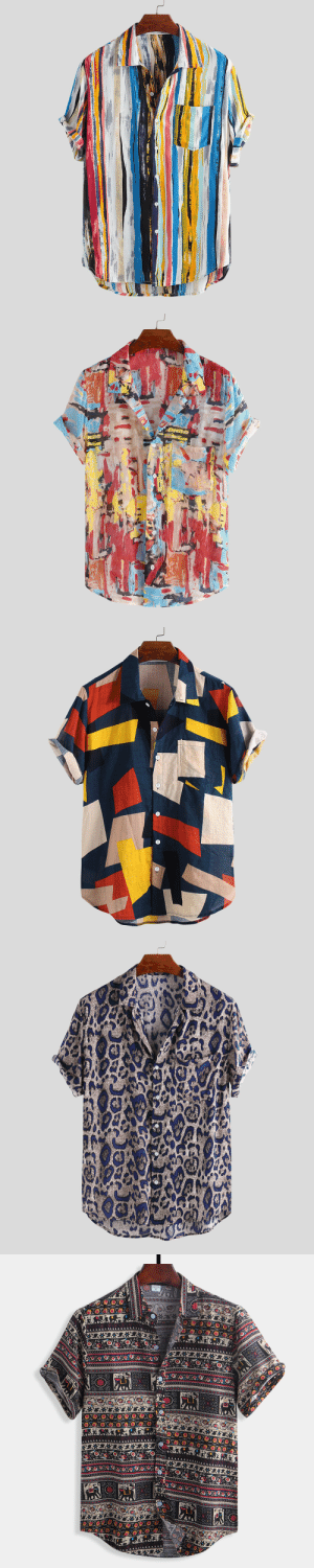 permanentfilemugglethings: Mens Multi Color Graffiti Chest Pocket Short Sleeve Round Hem Loose Shirts  Rayon Material: man-made material from a blend of cotton, trees and woody plants This fabric was first made as a cheaper version of silk and has a very smooth feel to it. Like polyester, rayon is a good material for athletic and outdoor wear because of its lightweight feel.(M,L,XL,2XL,3XL,4XL )in stock Check out HERE : *1* permanentfilemugglethings: Mens Multi Color Graffiti Chest Pocket Short Sleeve Round Hem Loose Shirts  Rayon Material: man-made material from a blend of cotton, trees and woody plants This fabric was first made as a cheaper version of silk and has a very smooth feel to it. Like polyester, rayon is a good material for athletic and outdoor wear because of its lightweight feel.(M,L,XL,2XL,3XL,4XL )in stock Check out HERE