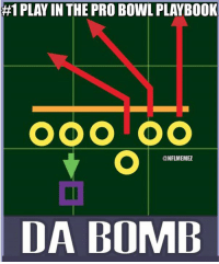 Just go deep all day:  #1 PLAY IN THE PRO BOWL PLAYBOOK  OOOTOO  @NFLIMEMEZ  DA BOMB Just go deep all day