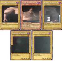 Bailey Jay, Dank Memes, and Arm: 1 RIGHT ARM OF THE FORBIDDEN  )  EXODIA THE FORBIDDEN 0NE(A  EXODIA THE FORBIDDEN ONEL  1 ILEFT ARM OF THE FORBIDDEN NE 闇  LEFT ARM OF THE FORBIDDEN ONE  NE  SPELLCASTER)  SPELLCASTER/EFECT  ATK/ 200 DEF 300  ATK/1000 DEF/I0O0  ATK/ 200 DEF 300  RIGHT LEG OF THE FORBIDDEN ONE LEFT LEG OF THE FORBIDDEN O  SPALLCASTER]  ISPILLCASTER]  ATKI 200 DEFI 300  ATKI 200 DEFI 300