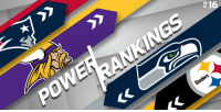 Philadelphia Eagles, Memes, and Nfl: 1  Steelers Week 16 NFL Power Rankings (via @HarrisonNFL):  1. @Patriots 2. @Vikings 3. @steelers 4. @Eagles 5-32. https://t.co/YcGWP7PUMI https://t.co/rDj0J09ejA