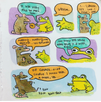 Memes, Wat, and 🤖: 1... UHHH  Was VER  VHHm...  It's. ..You...  NILE to MEEt  Nov  Nov kNow thiE WHolt.  OF COURSE... o o F  Cove. E kNow wat.  Back bade-Gauk Put 'er there. toadstories sketchshark comics