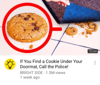 Had to Call 911 today: 10:04  10:04  If You Find a Cookie Under Your  Doormat, Call the Police!  BRIGHT SIDE 1.5M views  1 week ago Had to Call 911 today
