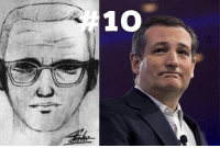 10. The ted Cruz is the zodiac killer meme. Yes, the one with ted Cruz and the butter cow one is great, but this one just isn't that funny. During the beginning of 3016, the chance of who was going to get the republican nomination was heated. This meme was started in direct contrast of Texas senator Ted Cruz trying to become the nominee. It was interesting at first, but the jokes died down as nobody really knew what else to do with the comparison.: 10 10. The ted Cruz is the zodiac killer meme. Yes, the one with ted Cruz and the butter cow one is great, but this one just isn't that funny. During the beginning of 3016, the chance of who was going to get the republican nomination was heated. This meme was started in direct contrast of Texas senator Ted Cruz trying to become the nominee. It was interesting at first, but the jokes died down as nobody really knew what else to do with the comparison.
