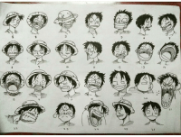 Luffy's expressions By @d_darkside: 10  12  1  14  16  17  20  22  23  24  25  26  3 Luffy's expressions By @d_darkside