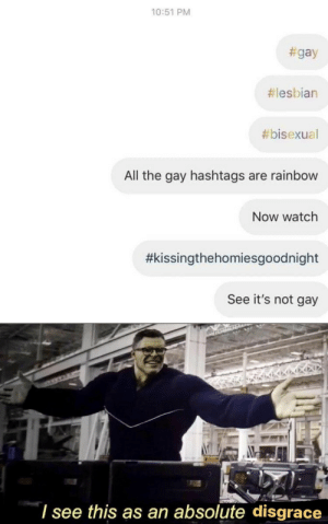 A fuckin disgrace via /r/memes https://ift.tt/2WcFZJk: 10:51 PM  #gay  #lesbian  #bisexual  All the gay hashtags are rainbow  Now watch  #kissingthehomiesgoodnight  See it's not gay  'I see this as an absolute disgrace A fuckin disgrace via /r/memes https://ift.tt/2WcFZJk
