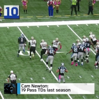 """Who are the Top 10 QBs in the NFL for Week 1?"" 🤔🏈 NFL @NFL WSHH: 10  52  20  Cam Newton:  19 Pass TDs last season ""Who are the Top 10 QBs in the NFL for Week 1?"" 🤔🏈 NFL @NFL WSHH"