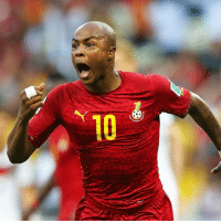 Fifa, Memes, and World Cup: 10 Happy 27th birthday to André Ayew! The all-action attacker played for Ghana at the 2010 FIFA World Cup, reaching the quarter-finals. Four years later in Brazil, he scored two of his country's four goals in the group stage. Ayew previously appeared at four CAF African Cup of Nations tournaments and emerged victorious from the FIFA U-20 World Cup 2009. HappyBirthday Ayew Ghana BlackStars WorldCup U20WC @andreayew10