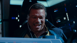 Disney, Empire, and Movies: 10 In the trailer for star wars 9 we can see Disney reintroduce lando calrissian from the empire strikes back, this is in fact a nod to Disney running out of original trilogy characters to kill for artificial shock in their movies