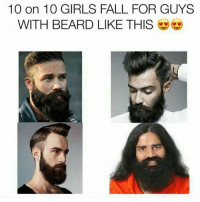 Patanjali se to pategi hi Anjali 😂: 10 on 10 GIRLS FALL FOR GUYS  WITH BEARD LIKE THIS Patanjali se to pategi hi Anjali 😂