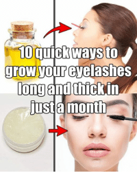 10 quick ways to grow your eyelashes long and thick in just a month Read the full story here 👉 https://1jux.net/584040/70232: 10 quickways to  grow your eyelashes  longand thickin  justa month 10 quick ways to grow your eyelashes long and thick in just a month Read the full story here 👉 https://1jux.net/584040/70232