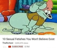 "Dank, Meme, and Http: 10 Sexual Fetishes You Won't Believe Exist  TheRichest 2,820,470 views  SUBSCRIBE 8.9M <p>I already knew it tho via /r/dank_meme <a href=""http://ift.tt/2BAEEno"">http://ift.tt/2BAEEno</a></p>"