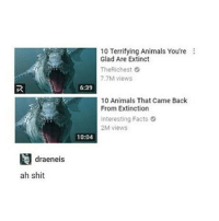 Being Alone, Animals, and Birthday: 10 Terrifying Animals You're  Glad Are Extinct  TheRichest  7.7M views  6:39  10 Animals That Came Back  From Extinction  Interesting Facts  2M views  10:04  draeneis  ah shit I just realised it's my 18th birthday in a couple days and I have no friends to celebrate with or even just hang out with like Ive has no proper friends for like coming up to 4 years and I don't know it always hits me when it's my birthday. Like I could become friends with my old friends but we have have history and shit and I could go out and find new friends but I'm terrified of talking to people so fuck it whatever another year alone