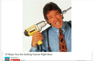 https://t.co/Rq0q8YSoHC: 10 Ways You Are Getting Cancer Right Now  MindChop  Subscribe 981.37 https://t.co/Rq0q8YSoHC