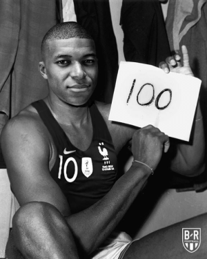 Kylian Mbappe reaches 100 career goals at only 20 years old ⚡: 100  100  FFF  BR  FOOTBALL Kylian Mbappe reaches 100 career goals at only 20 years old ⚡