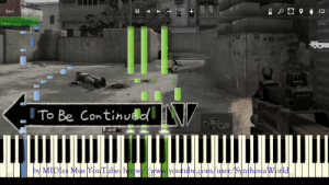 Meme, youtube.com, and Piano: 100%  130 BPM  Back  Helo  0:40.0  6:24.5  9018001  ITo Be Continudd .  þy MIDIes Mus YouTube: https/wwwlyoutube.dom/user/SynthesiaWorld To Be Continued meme Song Piano Tutorial (Synthesia Cover) - YouTube