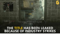 Video Games, Call of Duty, and World War 2: +100  Kill  Press and hold for [M4Carbine Red Dot Sight)  THE TITLE  HAS BEEN LEAKED  BECAUSE OF INDUSTRY STRIKES 2017 could be the year Call of Duty goes back to World War 2! :D