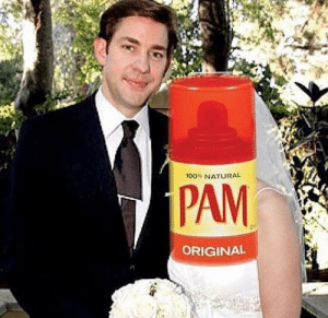 Memes, 🤖, and Pam: 100% NATURAL  PAM  ORIGINAL Dammit Dwight https://t.co/Ux9ByFZQyp