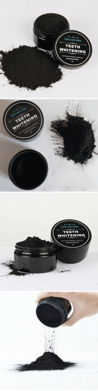 """Anaconda, Tumblr, and Blog: 100% NATURAL  TEETH  WHITENING  ACTIVATED ORGANIC CHARCOAL  30g   100% NATURAL  TEETH  WHITENING  309   100% NATURAL  TEETH  WHITENING  ACTIVATED ORGANIC CHARCOAL  30g chopchipchee: Wanna get a sweet smile with white teeth? Try this amazing Powder Use """"NY2018"""" for 20% off discount  It really amazing,and it works after I use 2-3 times."""