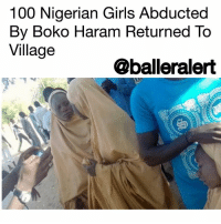"America, Anaconda, and Andrew Bogut: 100 Nigerian Girls Abducted  By Boko Haram Returned To  Village  @balleralert 100 Nigerian Girls Abducted By Boko Haram Returned To Village - blogged by @worldwidekeege ⠀⠀⠀⠀⠀⠀⠀⠀⠀ ⠀⠀⠀⠀⠀⠀⠀⠀⠀ The tragic horror that America witnessed almost 4 years ago has relived itself in Nigeria but this time the narrative paints a different ending. ⠀⠀⠀⠀⠀⠀⠀⠀⠀ ⠀⠀⠀⠀⠀⠀⠀⠀⠀ The Islamic extremist group Boko Haram which stands for ""Western education is forbidden"" hit hard again by abducting 110 girls from a Nigerian school in the city of Dapchi. The same group took over 300 girls from a school in Chibok 4 years ago. The group's reason for kidnapping the girls is to teach them Islam and show them why they shouldn't practice Western education, instead, they should be married off. ⠀⠀⠀⠀⠀⠀⠀⠀⠀ ⠀⠀⠀⠀⠀⠀⠀⠀⠀ They make the girls live in forests and migrate from place to place running from officials looking to rescue them. All of the girls from the Chibok kidnapping years ago have not been returned but almost 100 of the Dapchi students were returned to their city early Wednesday morning. ⠀⠀⠀⠀⠀⠀⠀⠀⠀ ⠀⠀⠀⠀⠀⠀⠀⠀⠀ As parents and loved ones watched them walk into town, hearts were overjoyed with compassion for what the young ladies had gone through for over a month while being held captive. ⠀⠀⠀⠀⠀⠀⠀⠀⠀ ⠀⠀⠀⠀⠀⠀⠀⠀⠀ Nigerian officials were highly criticized for not preventing the attack and not doing enough in their rescue efforts to bring the girls home sooner. ⠀⠀⠀⠀⠀⠀⠀⠀⠀ ⠀⠀⠀⠀⠀⠀⠀⠀⠀ Hopefully, we can see more efforts for them in the future and maybe the rest of the Chibok girls will be released as well."
