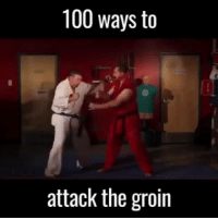 100 ways to attack the groin. Winning any fight is guaranteed.: 100 ways to  attack the groin 100 ways to attack the groin. Winning any fight is guaranteed.