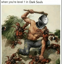Who's ready for Dark Souls 3 tomorrow night?: when you're level 1 in Dark Souls Who's ready for Dark Souls 3 tomorrow night?